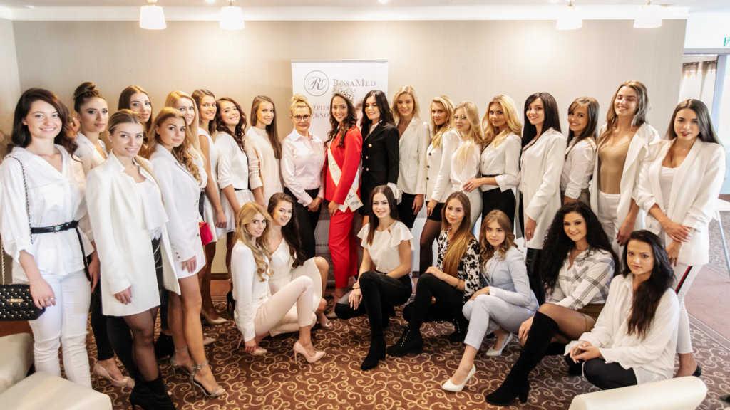Jesienne zgrupowanie Miss Polski 2018 z udziałem RosaMed Clinic